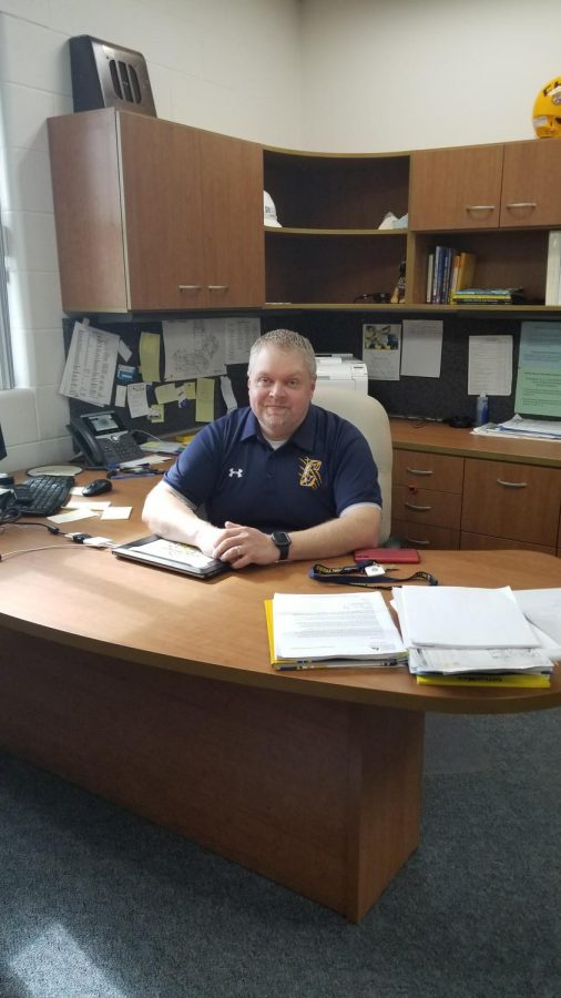 Mr. Shawn Rude, CHSs new principal, is getting to know Chilton better, but he has family in the area and worked in the New Holstein School District for 11 years.