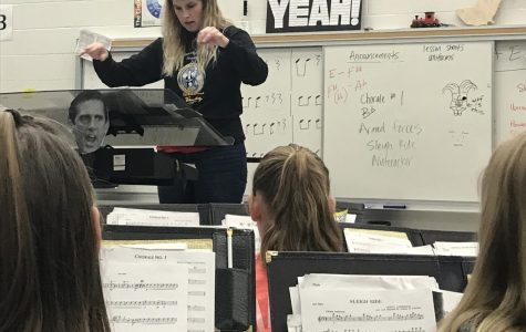 Ms. Kochan Joins the Army National Guard Band