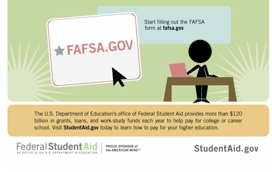 Federal Financial Aid Application Coming Due