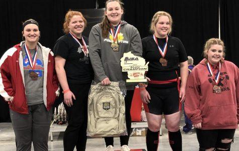 Senior Wins State Powerlifting Title