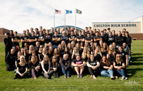When the Class of 2020 posed for this yearbook photo in front of CHS in September, no one could have foreseen the pandemic and the resulting loss of so many traditional senior experiences.